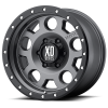 XD Series XD126 Enduro Pro 17X9 Matte Gray with Black Rimg