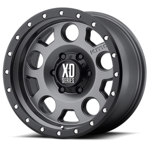 XD Series XD126 Enduro Pro Matte Gray with Black Rimg