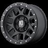 XD Series XD127 Bully 17X8.5 Satin Black