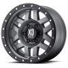 XD Series XD128 Machete 17X9 Matte Gray with Black Rimg