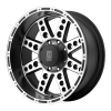XD Series XD766 DIESEL  18X9 Satin Black with ClearCoat