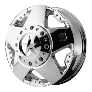 XD Series XD775 Rockstar Dually Front Chrome