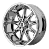 XD Series XD779 Badlands 22X11 Chrome