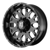 XD Series XD808 Menace 17X9 Black