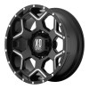 XD Series XD812 Crux 17X9 Black