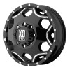XD Series XD814 Crux 17X6 Black