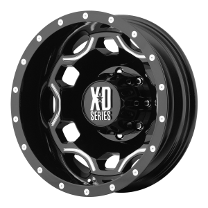 XD SERIES XD814 Crux Rear Gloss Black With Milled Accents