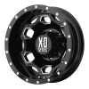 XD SERIES XD815 Battalion Rear 17X6 Gloss Black With Milled Accents