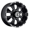Xtreme NX-2 17X8 Black Machined