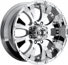 Xtreme NX-2 17X8 Chrome